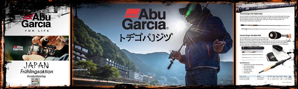 Abu Garcia Japan Programm 2016 inkl. Katalog